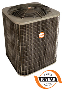 The PH13NA unit delivers comfort with 13 SEER (Seasonal Energy Efficiency Ratio)